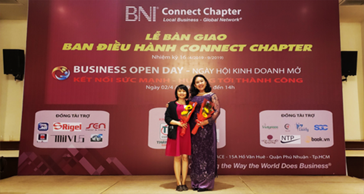 Tham gia giao lưu kết nối mở rộng giữa các doanh nghiệp tại BNI Connect Chapter